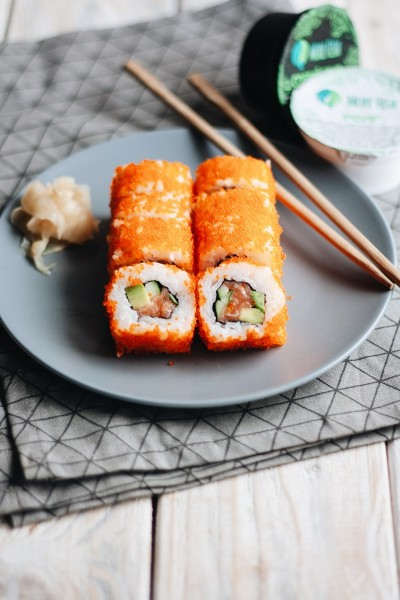 California Roll with Salmon