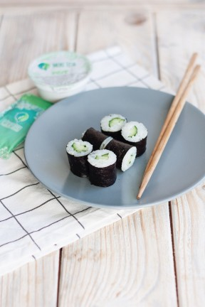 Maki roll with cucumber