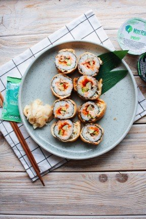 Silas Roll with Salmon
