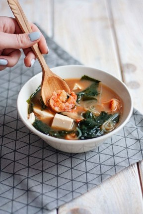 shrimp Miso Soup